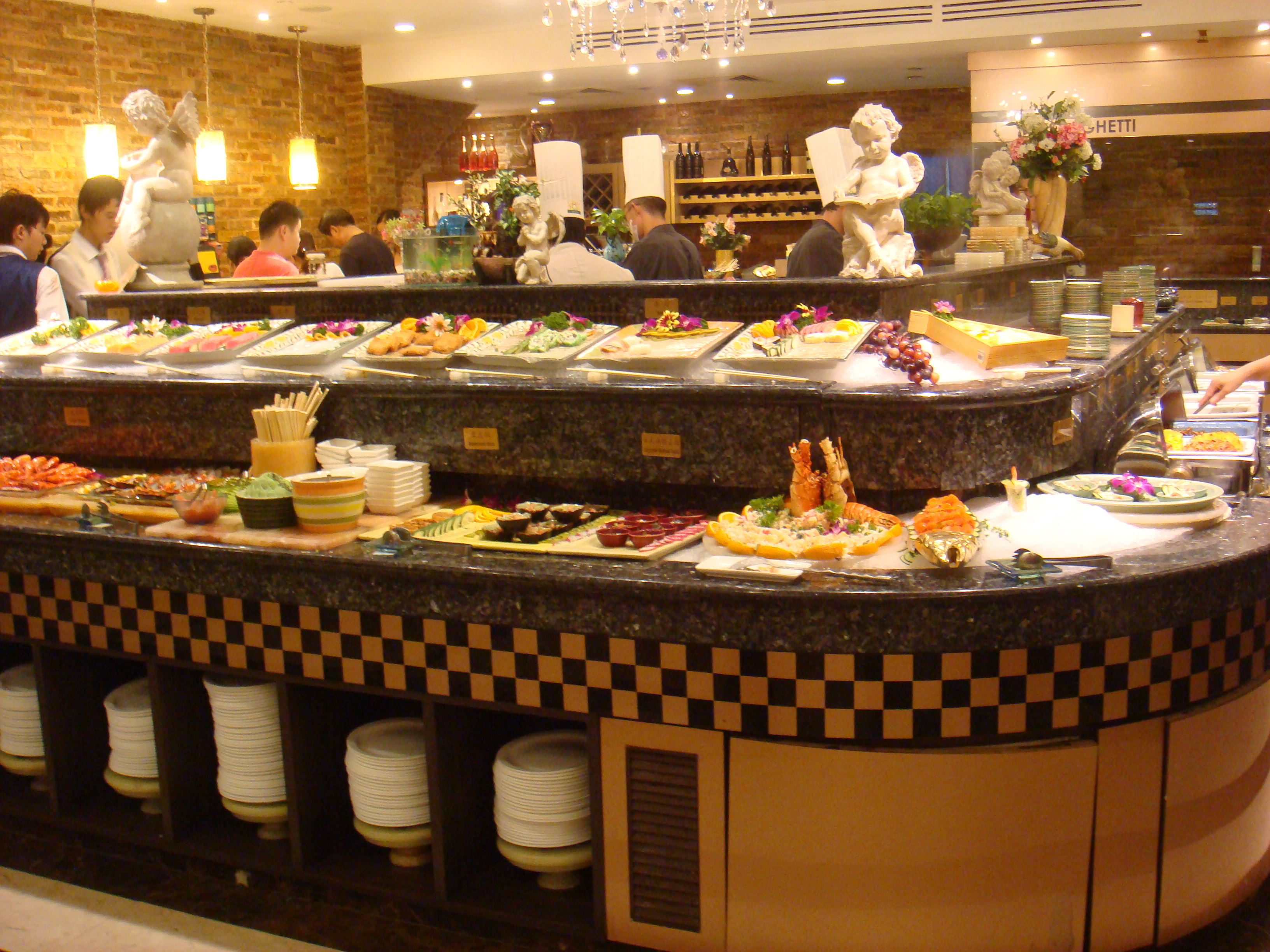 Lifestyle musings vienna international buffet united for Table buffet