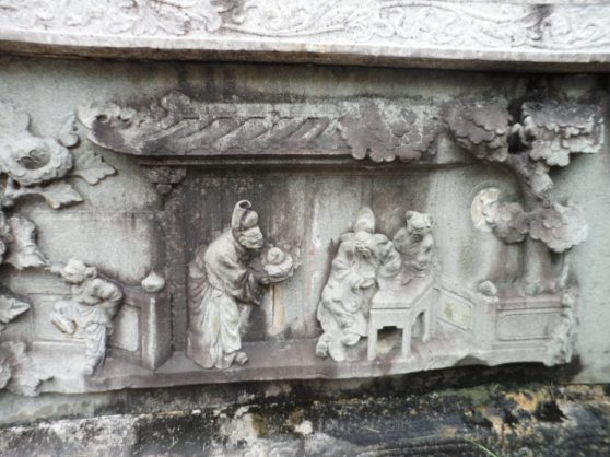 One of the 24 slabs depicting Filial Piety.