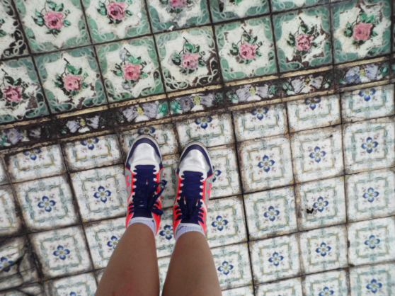 Culture, History and Heritage. Dutch Tiles (I would have thought Peranakan).